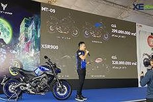 Tìm hiểu nhanh Yamaha MT-09 và XSR900 chính hãng vừa ra mắt