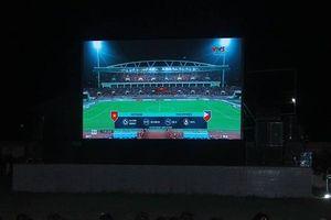 Nhiều vùng quê ở miền Trung lắp màn hình 'khủng' xem chung kết AFF Cup