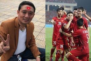 Bất chấp ghi hình, danh hài Chiến Thắng 'ra yêu cầu' với đạo diễn để cổ vũ đội tuyển Việt Nam