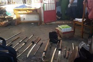 Phát hiện nhiều dao kiếm, ma túy tại hiện trường vụ giết người phi tang xác trên đèo