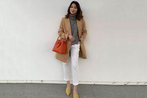 Áo len cổ lọ + áo khoác dạ: Combo 'xưa như trái đất' đang được các quý cô sành mốt ưu ái hết mực