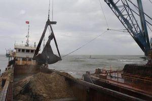 Thi công 3 ca tại các công trình nạo vét luồng hàng hải