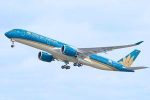 Vietnam Airlines sẽ sử dụng máy bay Airbus A350-900 đưa các cầu thủ từ Malaysia về Hà Nội