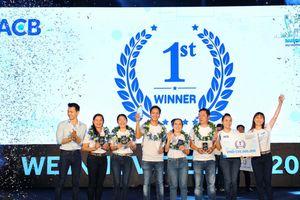 Ý tưởng về hệ thống cho vay trực tuyến đoạt giải quán quân cuộc thi ACB WIN 2018