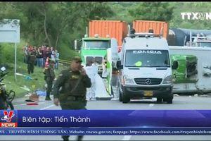 Colombia: Lật xe buýt chở các cầu thủ bóng rổ, 33 người thương vong