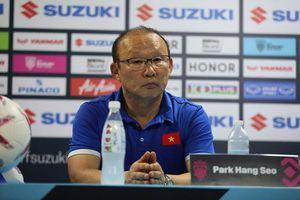 HLV Park Hang-seo bất ngờ phát biểu trước trận đấu gặp Mã Lai