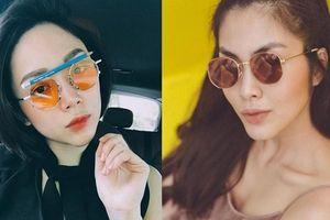 Hà Tăng, Tóc Tiên… cùng loạt sao Việt đọ 'độ chịu chơi' với mắt kính thời trang độc lạ