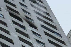 Hà Nội: Chung cư của 'đại gia điếu cày' lại cháy, 1 phụ nữ tử vong