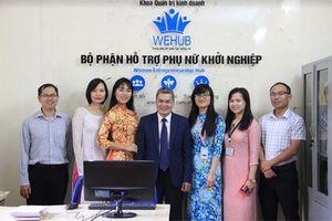 Ra mắt bộ phận Hỗ trợ Phụ nữ Khởi nghiệp
