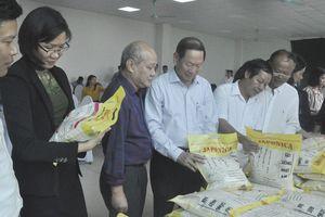 Huyện Ân Thi lần đầu tiên có những sản phẩm gạo chất lượng cao