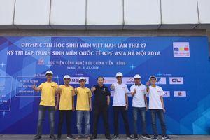 Sinh viên Trường Đại học Giao thông vận tải TP. Hồ Chí Minh đạt giải cao tại Kỳ thi Olympic Tin học Sinh viên Việt Nam lần thứ 27