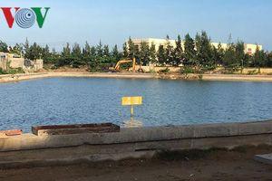 Học sinh lớp 4 tử vong trong công trình hồ chứa nước trên đảo Phú Quý