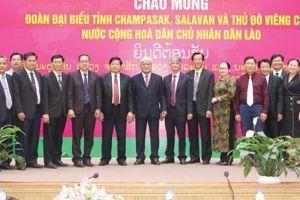 Đồng Tháp tăng cường hợp tác đầu tư với các địa phương Lào