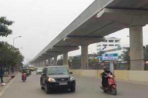 Tuyến đường sắt đô thị Nhổn - ga Hà Nội: Tiến độ đạt khoảng 45% khối lượng