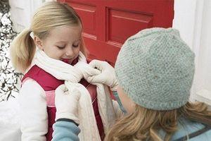 Bảo vệ sức khỏe cho trẻ trong đợt rét đậm, rét hại