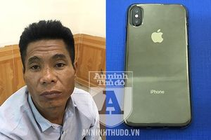 Tên trộm mình đầy tiền án lại sa lưới vì 'hack' Iphone X