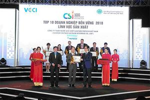Suntory PepsiCo Việt Nam đạt nhiều thành tựu nổi bật năm 2018