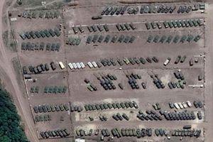 Ảnh vệ tinh: Nga đưa khí tài đến biên giới với Ukraine