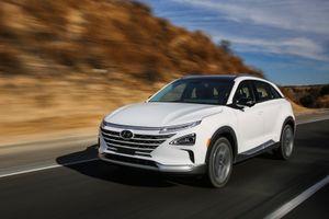 SUV chạy khí hydro Hyundai Nexo giá 60.000 USD tại Mỹ