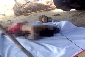 Phát hiện thi thể nam thanh niên bị buộc chân vào đá trên biển Mũi Né