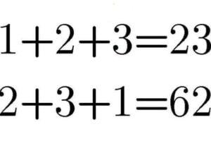 Câu đố tính giá trị phép tính 1 + 4 + 2
