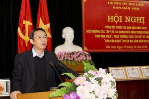 Huyện Gia Lâm: Tổng kết phong trào thi đua 'Dân vận khéo'