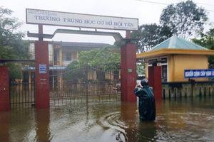 Ngành Giáo dục chủ động phòng tránh thiệt hại do mưa lũ