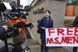 Mập mờ phiên tòa bảo lãnh 'nữ tướng' Huawei