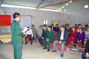 Bộ đội Biên phòng và cách phổ biến pháp luật cho nhân dân