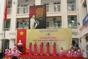 Khai mạc Hội thi Giáo viên dạy giỏi quận Hoàn Kiếm (Hà Nội)
