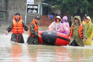 Sơ tán hơn 1.800 hộ dân ở Quảng Nam vì mưa lớn kéo dài, ngập sâu