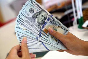 USD tự do giảm xấp xỉ ngân hàng