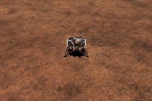 Tàu Insight của NASA đã thu được 'tiếng thở' đầu tiên từ sao Hỏa