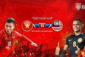 Malaysia 2-2 Việt Nam: Lợi thế tại Mỹ Đình
