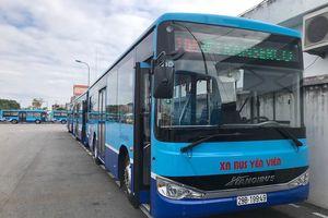 Hà Nội: Thay thế hàng loạt xe buýt mới