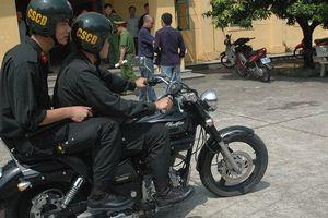 Hà Nội: Tăng cường lực lượng CSCĐ chống đua xe, gây rối trong trận chung kết