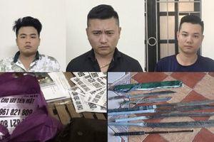 Bắt 3 người từ Hải Phòng vào Hà Tĩnh hoạt động tín dụng đen
