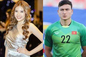 Hoa hậu 'tỏ tình' với thủ môn Văn Lâm: 'Tôi tin bạn gái Văn Lâm sẽ không cảm thấy khó chịu'