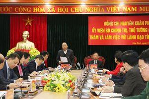 Thủ tướng: Hòa Bình cần quyết liệt cải thiện môi trường kinh doanh