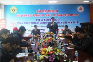 Quảng Ninh: Tổ chức Giải Vô địch cờ tướng trẻ Châu Á mở rộng Việt Nam 2018