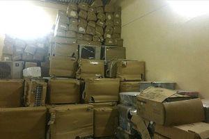 Quảng Bình: Phát hiện xe container chở lô hàng lậu trị giá gần nửa tỷ đồng