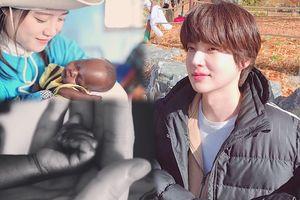 Phản ứng của Ahn Jae Hyun khi Goo Hye Sun đăng hình em bé, cư dân mạng 'ráo riết' mong họ có con