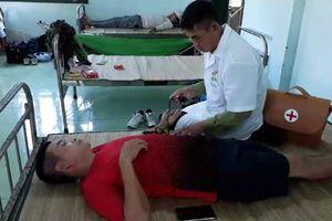 Quảng Trị: Cứu hộ thành công 9 thuyền viên gặp nạn trên biển