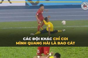 Không chỉ Quang Hải, nhiều cầu thủ Việt Nam khác cũng thành 'bao cát' của ĐT Malaysia