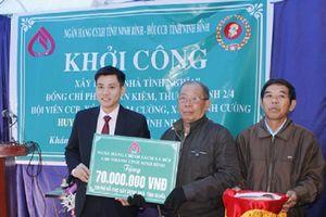 Ninh Bình: Khởi công xây dựng nhà tình nghĩa cho thương binh khó khăn