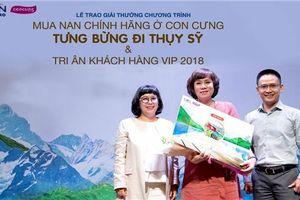 Nestlé NAN và Con Cưng tổ chức trao giải chuyến đi Thụy Sỹ cho khách hàng may mắn