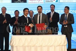 Dubai FDI ký kết hợp tác song phương tìm cơ hội đầu tư vào Việt Nam