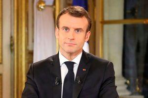 Tổng thống Pháp công bố loạt biện pháp xoa dịu 'áo vàng'