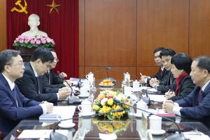 Tăng cường hợp tác giữa Ban Tuyên giáo Trung ương Đảng Cộng sản Việt Nam và Ban Tuyên huấn Trung ương Đảng Nhân dân cách mạng Lào