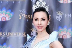 Châu Ngọc Bích đăng quang 'Hoa hậu Đại sứ Quý bà Hoàn vũ thế giới 2018'